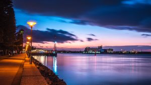 Newcastle Harbour Night walk